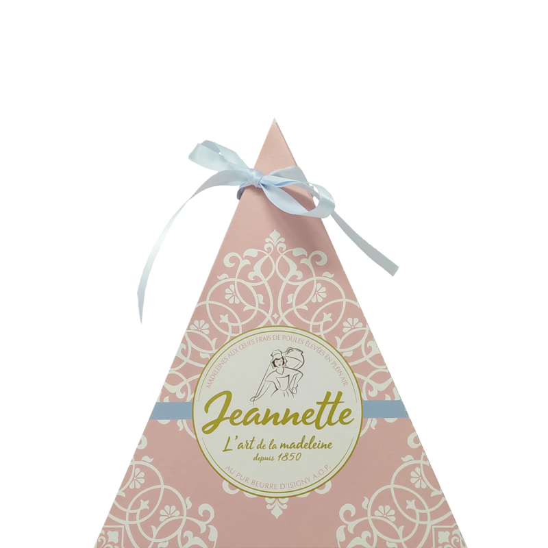 Pyramide Nature - Madeleine Nature Pur Beurre - Biscuiterie Jeannette