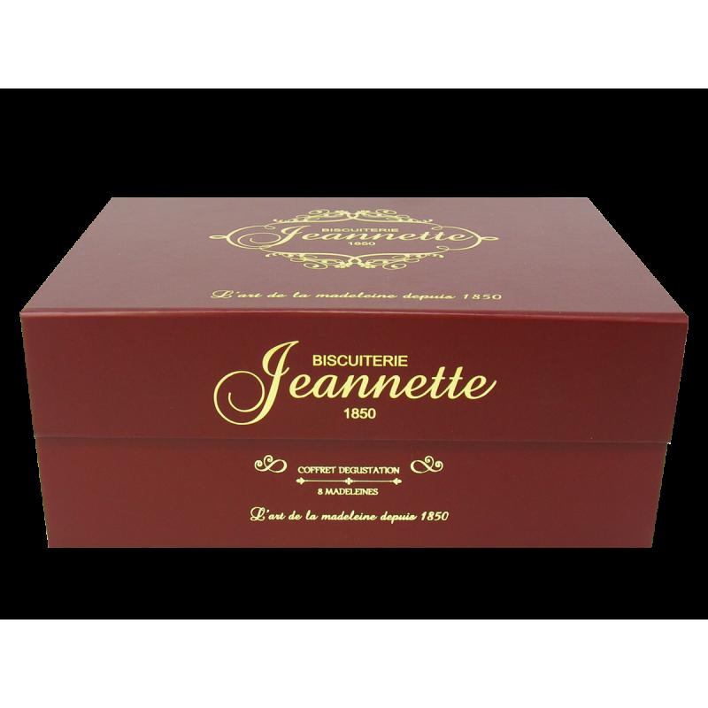 Coffret aimanté bordeaux madeleine jeannette - 8 Madeleine