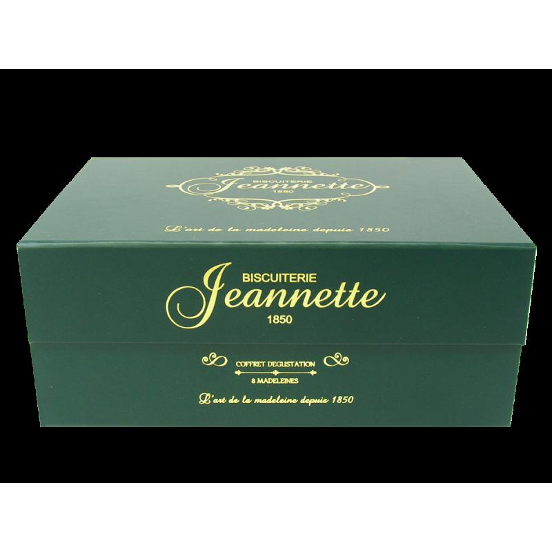 Coffret aimanté olive madeleine jeannette - 8 Madeleine