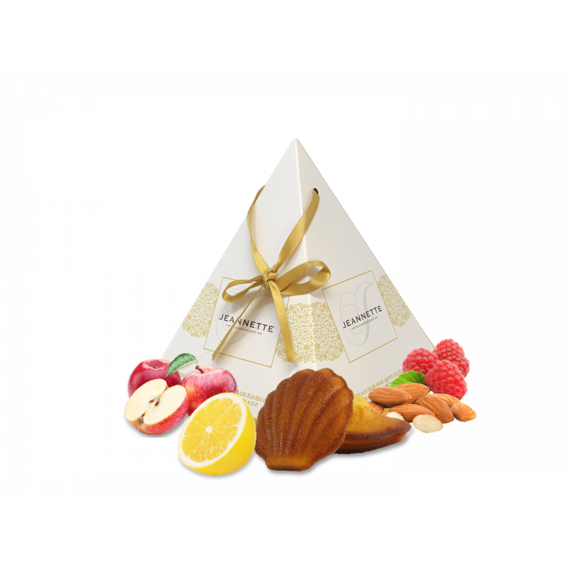 Pyramide 1850 - Assortiment Madeleine Pur Beurre - Biscuiterie Jeannette